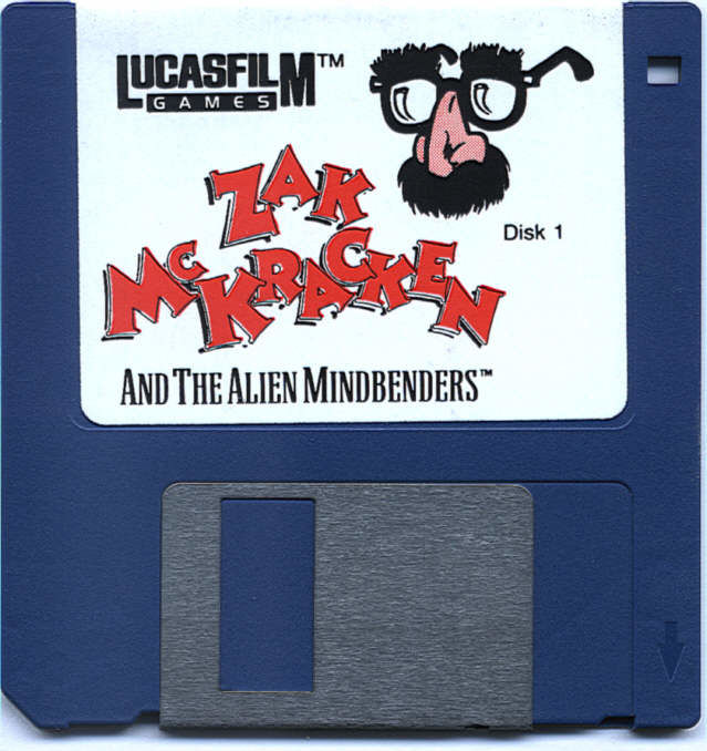 Zak McKracken and the Alien Mindbenders Atari ST Media Disk 1/3