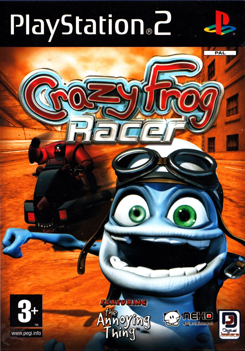 Crazy Frog Racer PlayStation 2 Front Cover