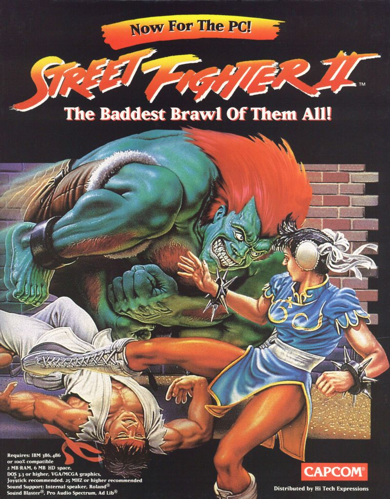 Street Fighter Ii The World Warrior For Dos 1993 Mobygames