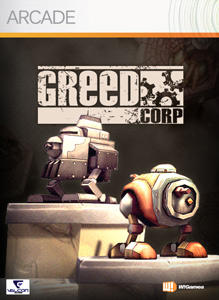 Greed Corp. Xbox 360 Front Cover