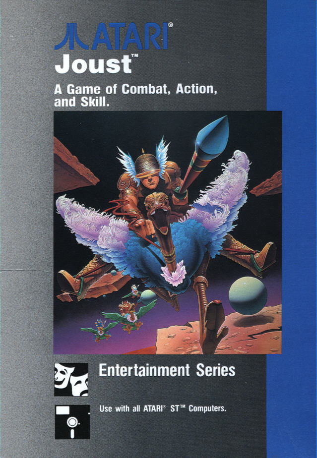 Joust Atari ST Front Cover