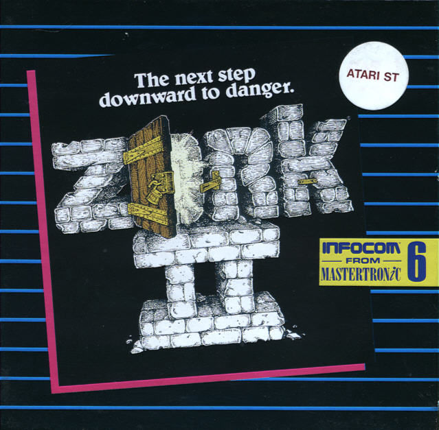 Zork II: The Wizard of Frobozz Atari ST Front Cover