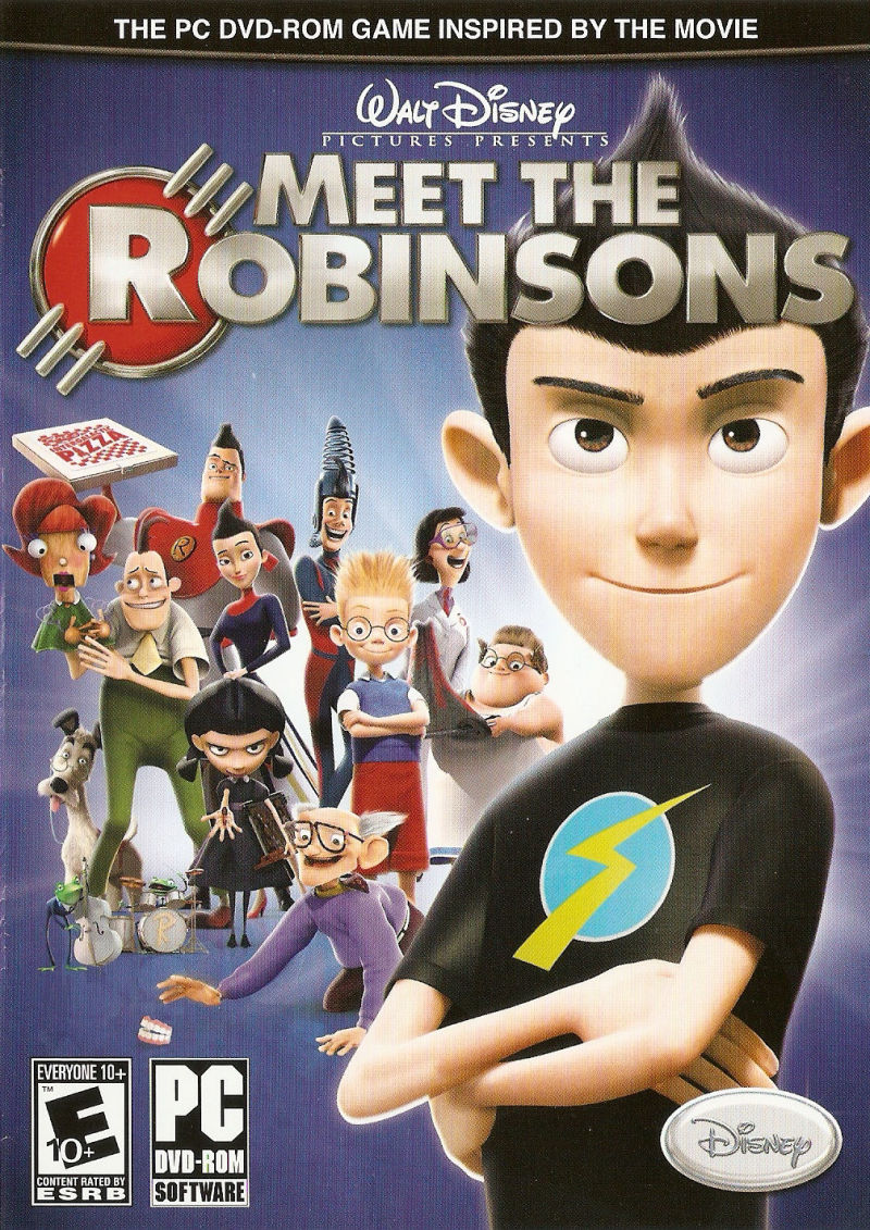 meet the robinsons for gamecube 2007 mobygames