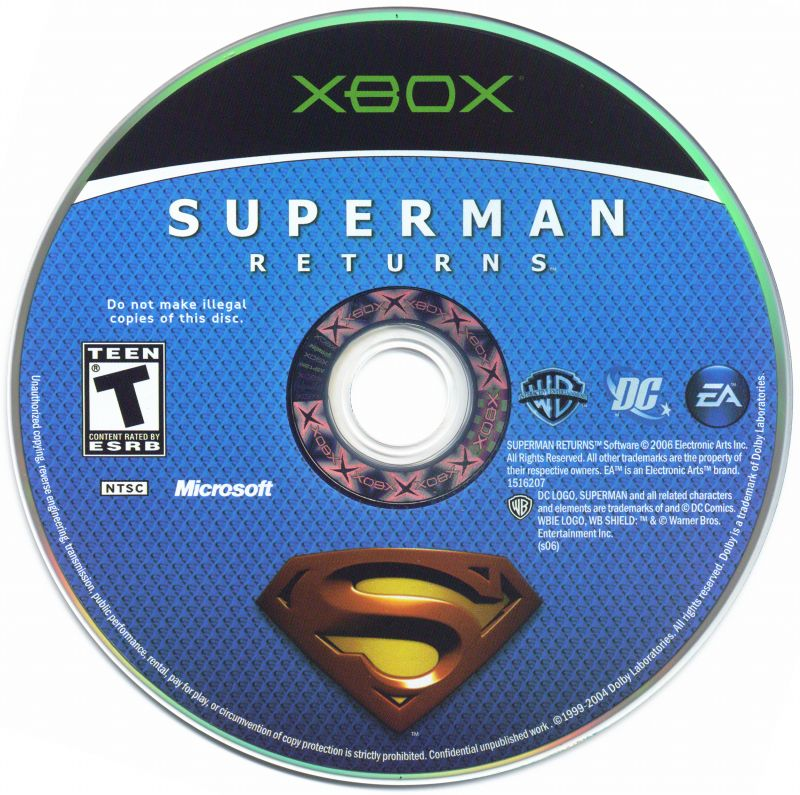 Superman Returns (2006) PlayStation 2 box cover art - MobyGames