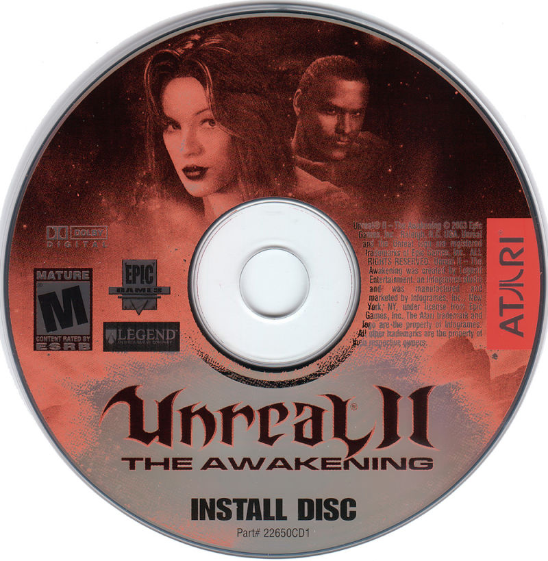 Unreal II: The Awakening Windows Media Disc 1