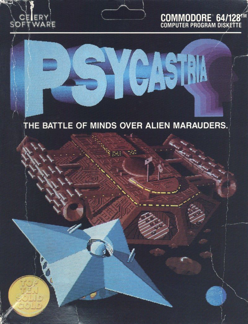 Psycastria Commodore 64 Front Cover