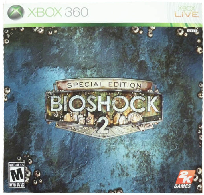 Bioshock 2 special edition xbox 360 | the box containing a… | flickr.