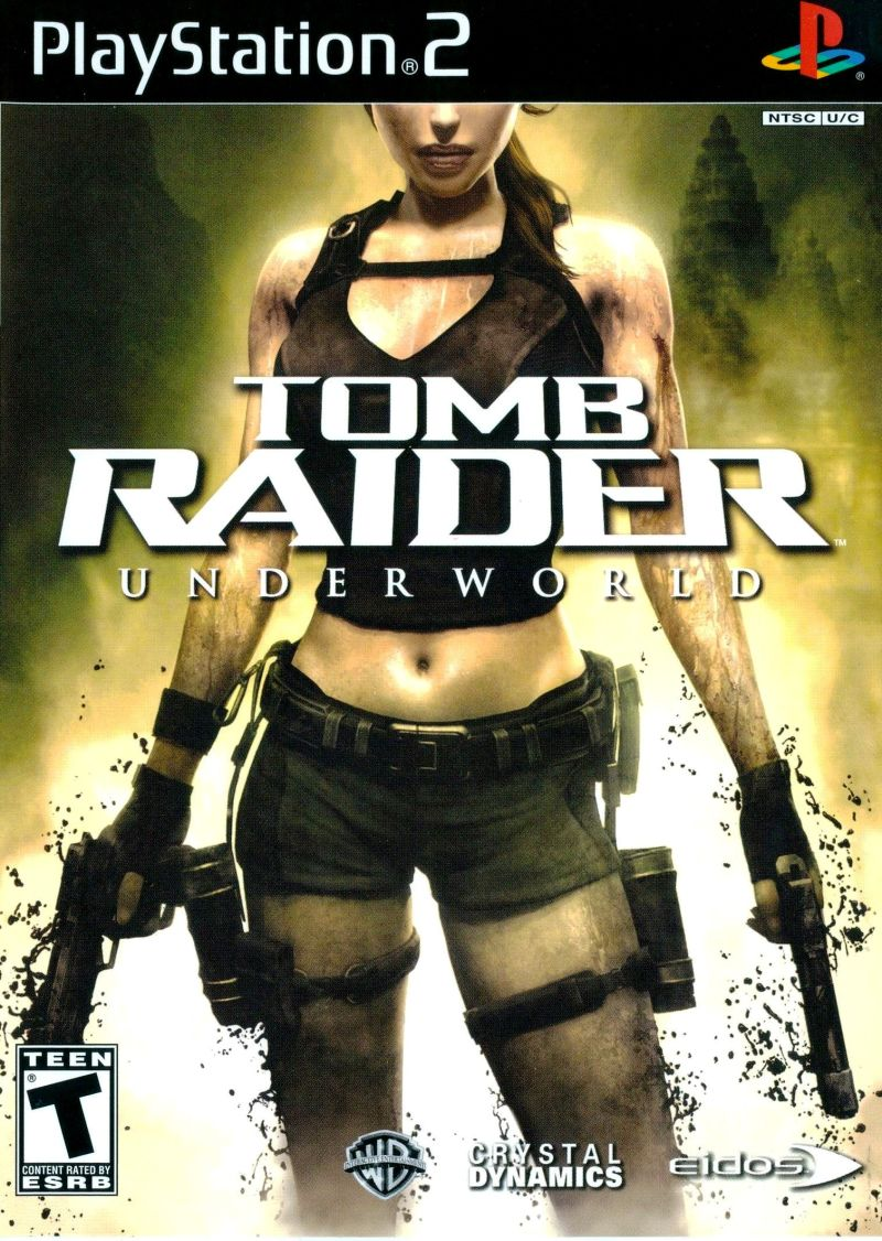 Tomb Raider Underworld 2008 Playstation 2 Box Cover Art Mobygames
