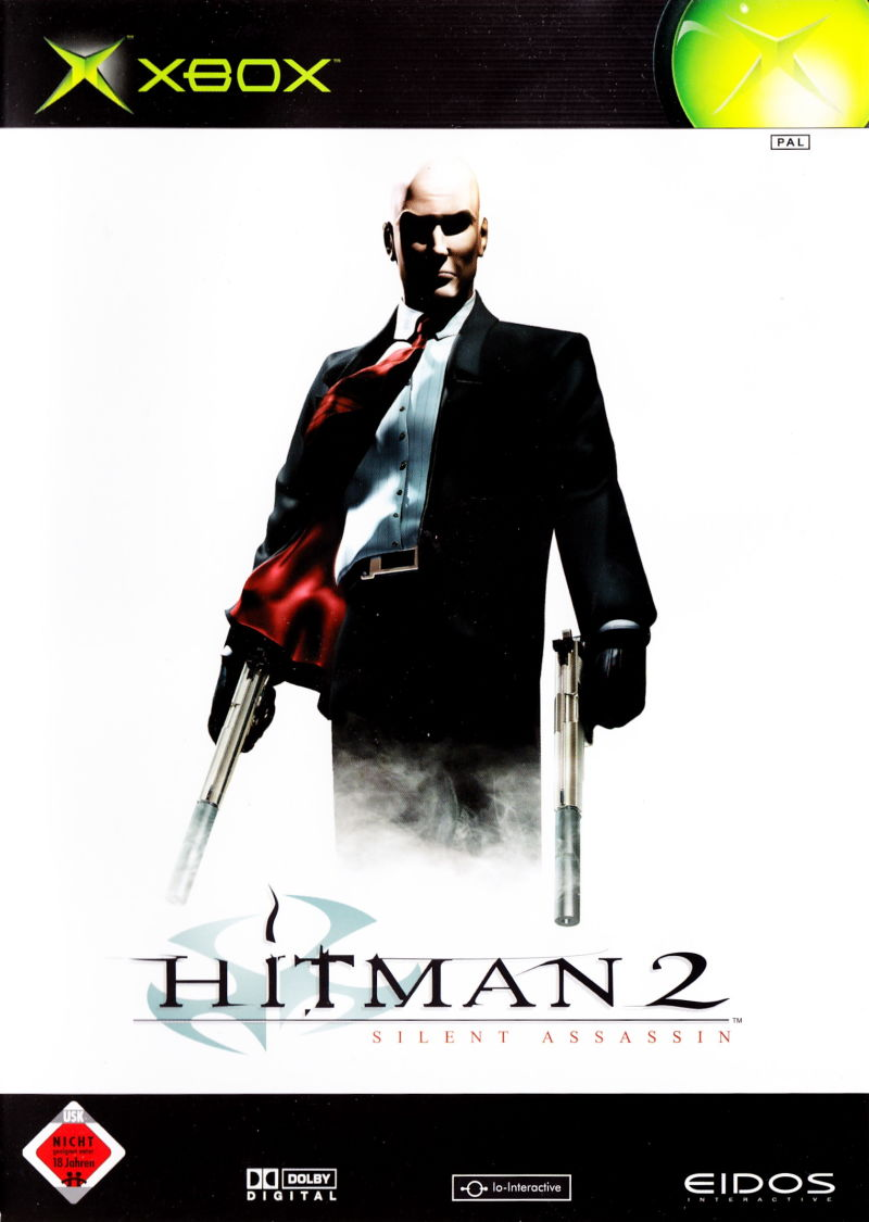 Hitman 2: Silent Assassin Xbox Front Cover