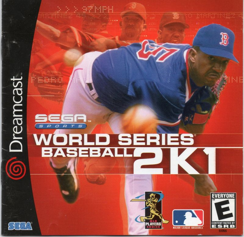 World Series Baseball 2K1 Dreamcast Front Cover