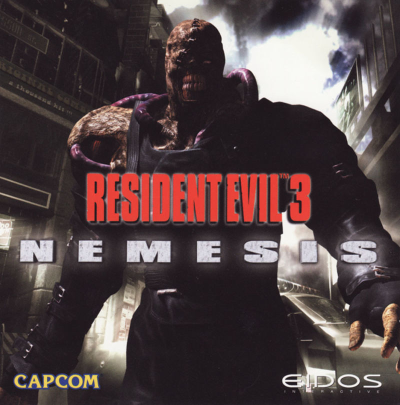 Resident Evil 3: Nemesis Windows Other Jewel Case- Front