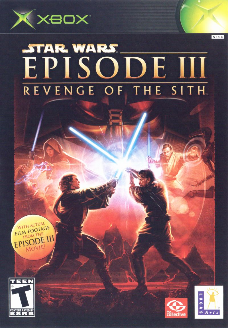 Star Wars: Episode III - Revenge of the Sith Xbox Front Cover