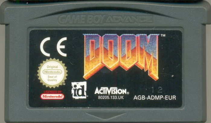 DOOM Game Boy Advance Media