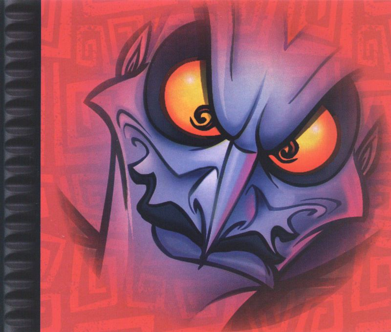 Disney's Hercules  PlayStation Inside Cover