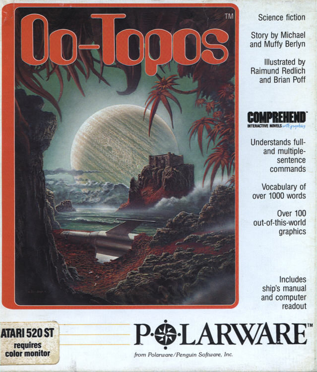 Oo-Topos Atari ST Front Cover
