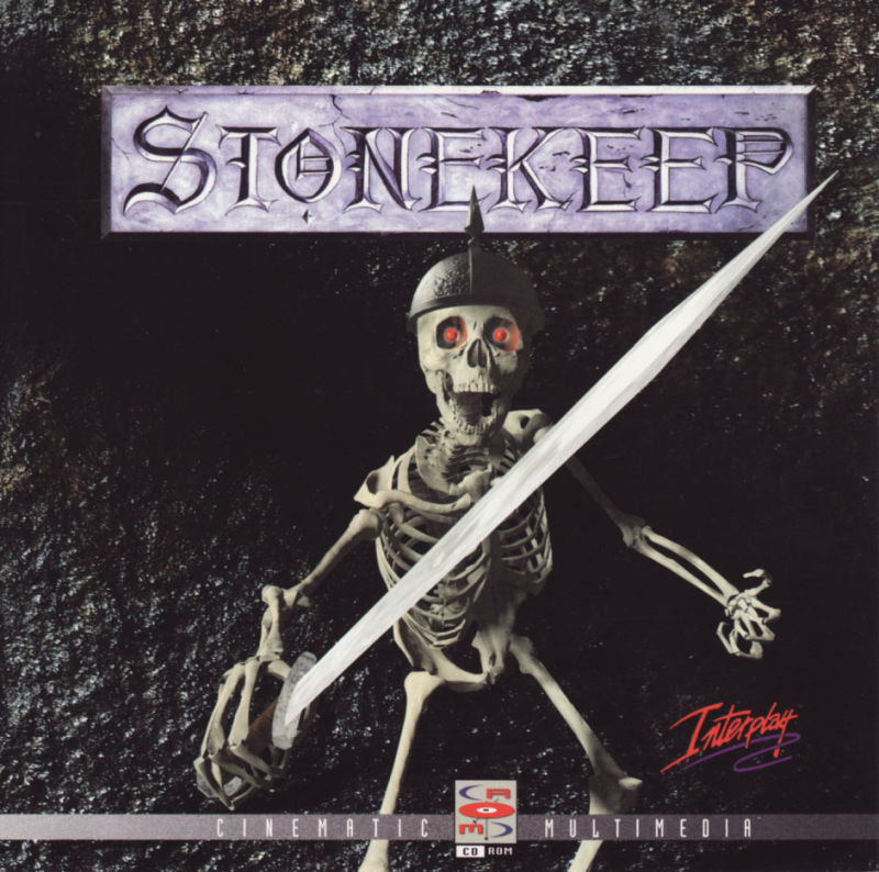 Stonekeep DOS Other Jewel Case - Front