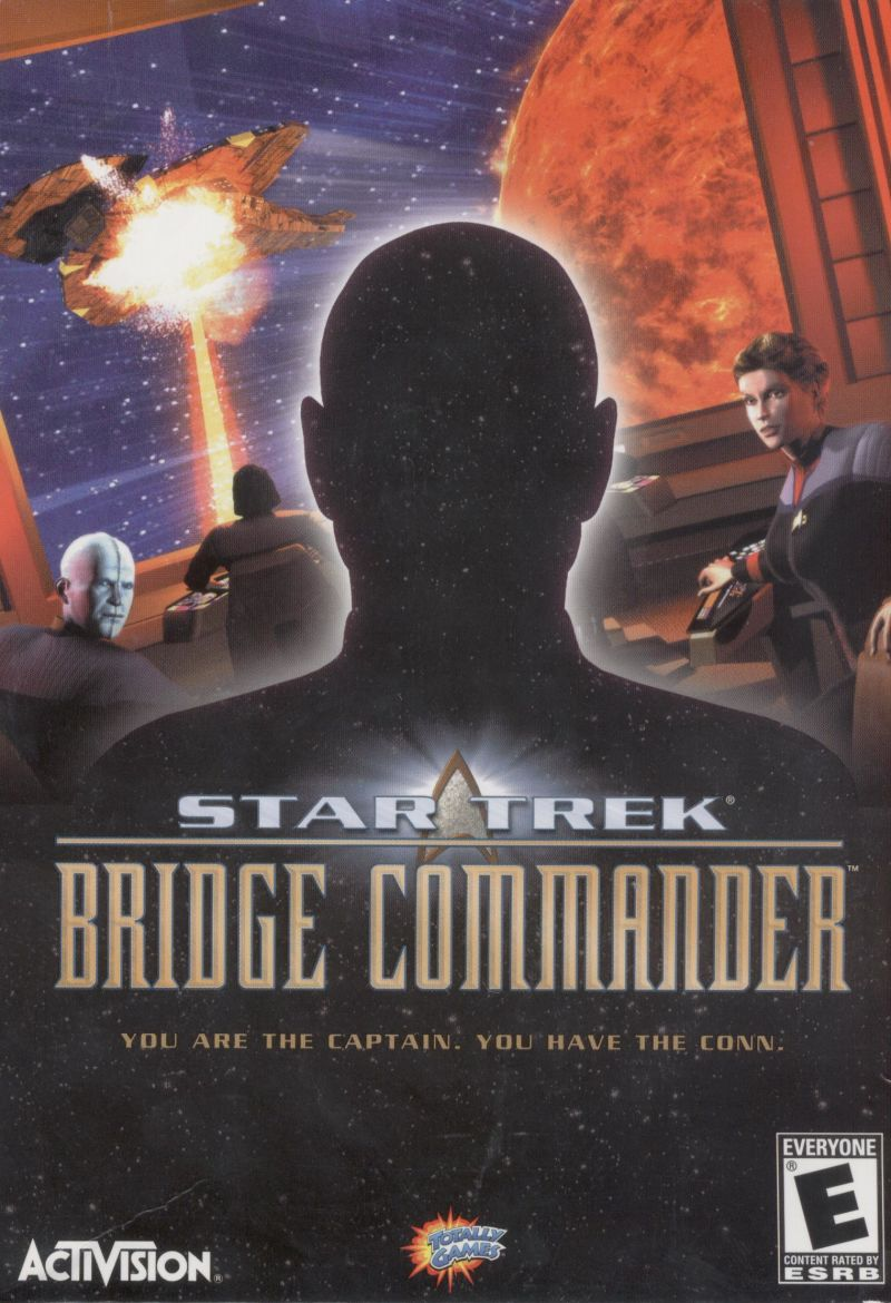 Star Trek: Bridge Commander Windows Front Cover