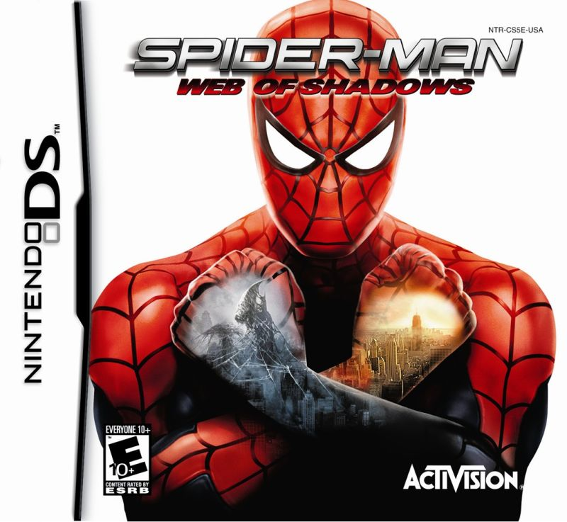 Spider-Man: Web of Shadows Nintendo DS Front Cover