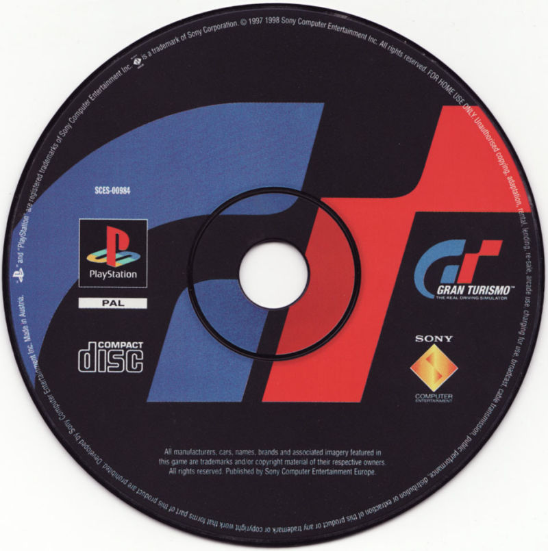 Gran Turismo PlayStation Media