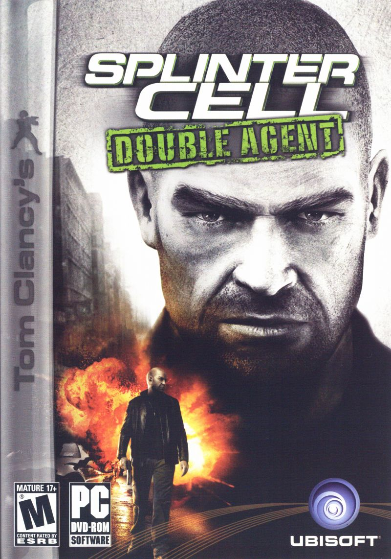 Tom Clancy's Splinter Cell: Double Agent Windows Front Cover