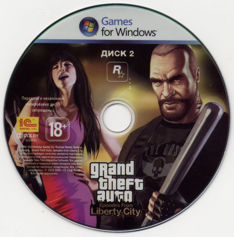 Grand Theft Auto: Episodes from Liberty City Windows Media Disc 2