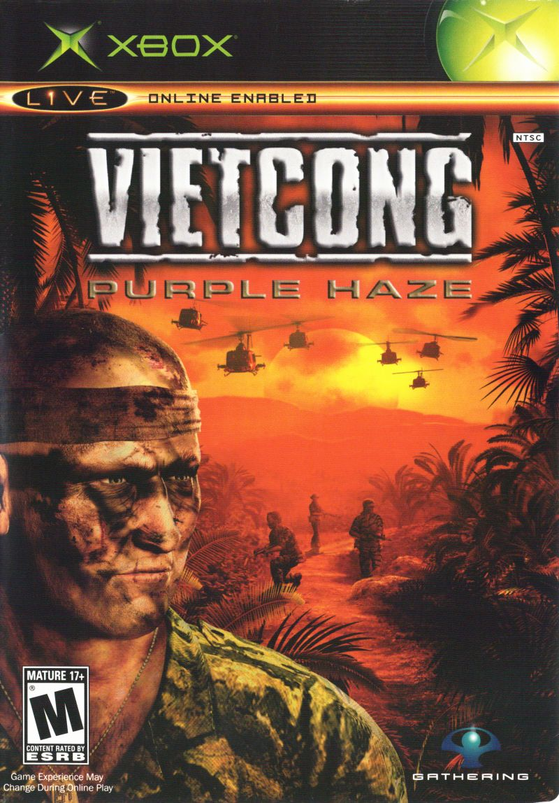 Vietcong: Purple Haze Xbox Front Cover
