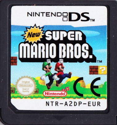 New Super Mario Bros. Nintendo DS Media