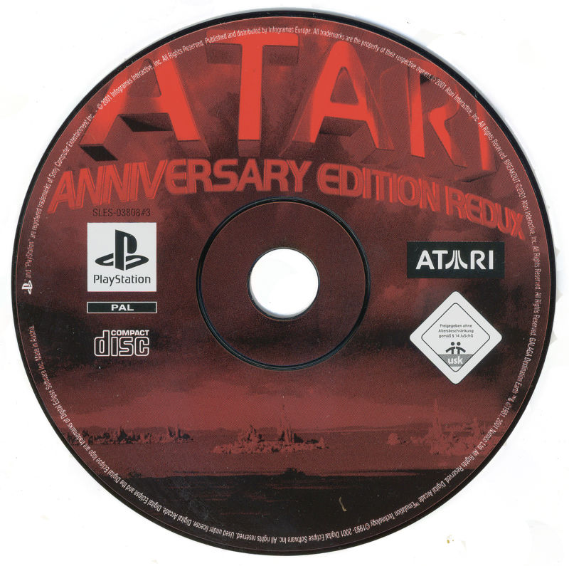 Atari: Anniversary Edition PlayStation Media