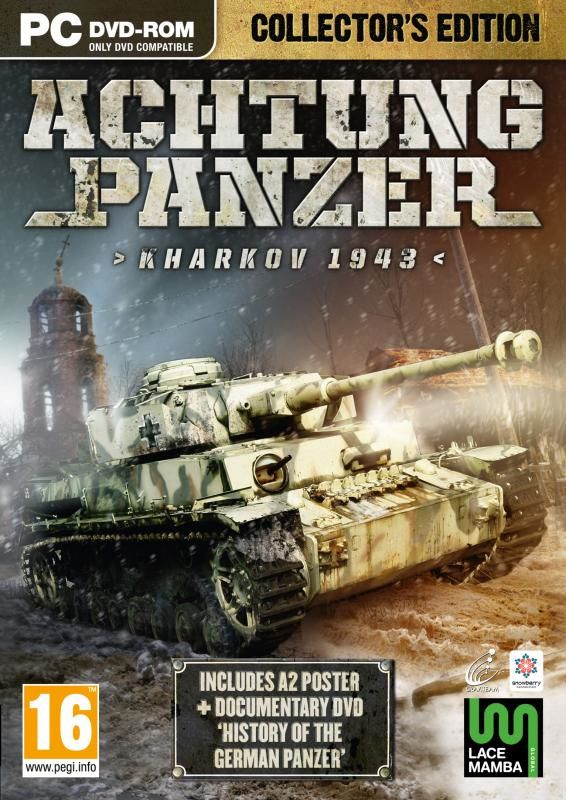 Achtung Panzer: Kharkov 1943 (Collector's Edition) Windows Front Cover