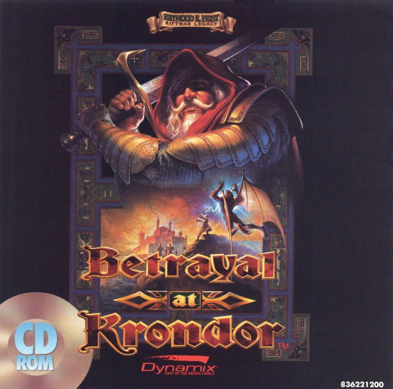 Betrayal at Krondor DOS Other Jewel Case - Front