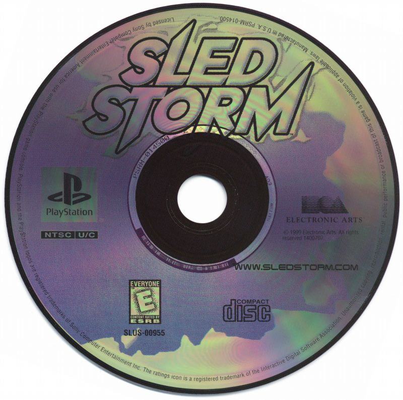 Sled Storm PlayStation Media
