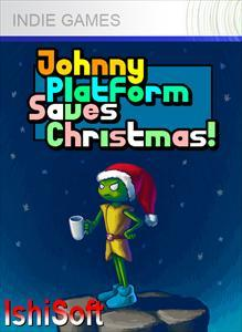 Johnny Platform Saves Christmas! Xbox 360 Front Cover