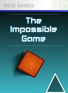 The Impossible Game Xbox 360 Front Cover 1st version