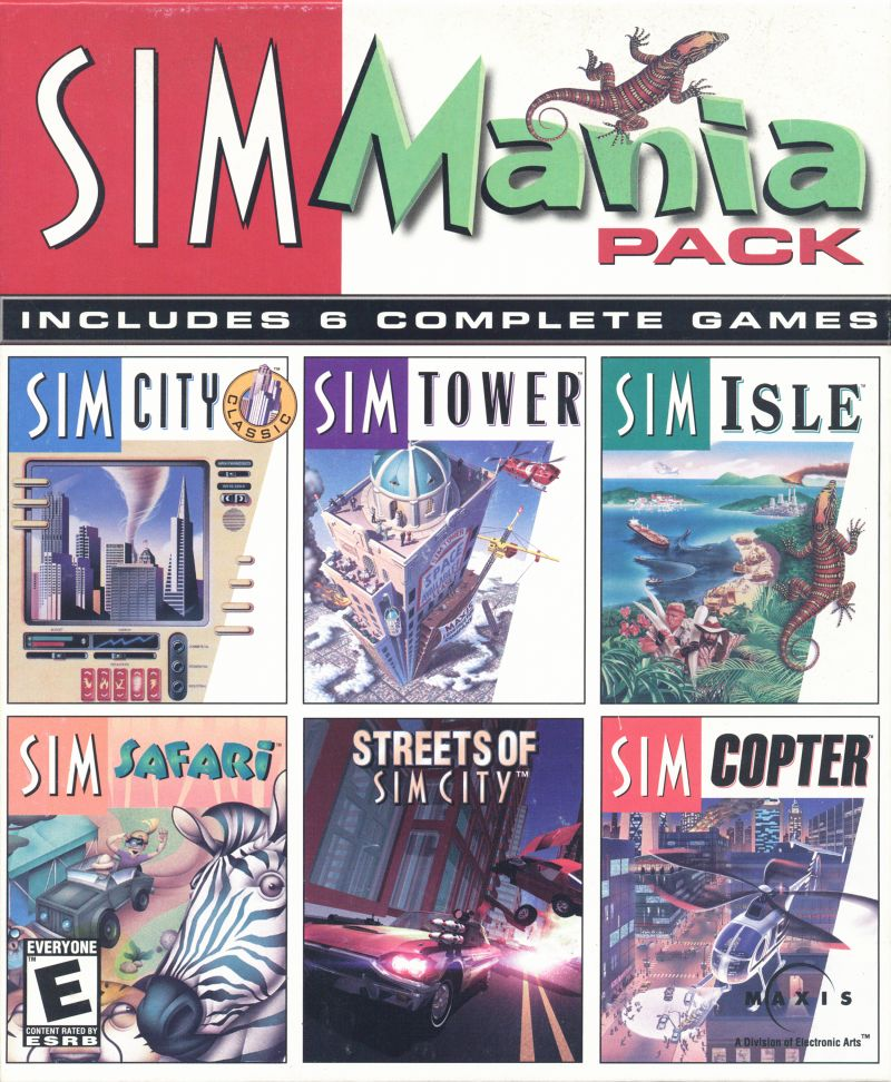 SimMania Pack Windows Front Cover