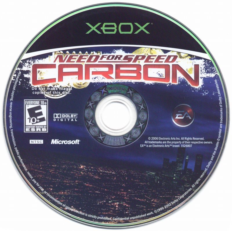 Need for Speed: Carbon Xbox Media