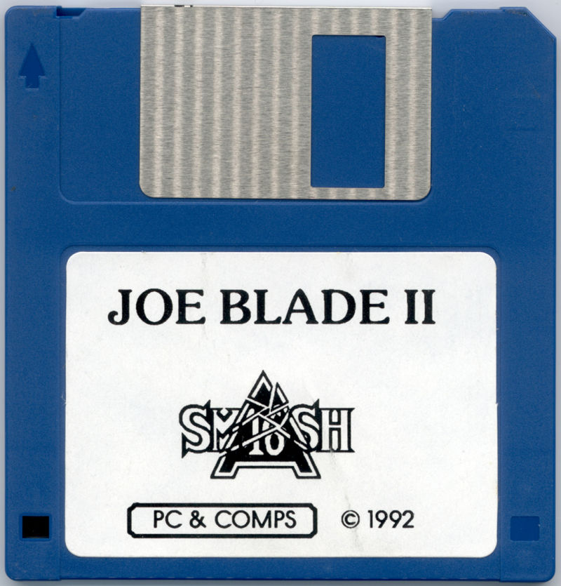 Joe Blade II DOS Media