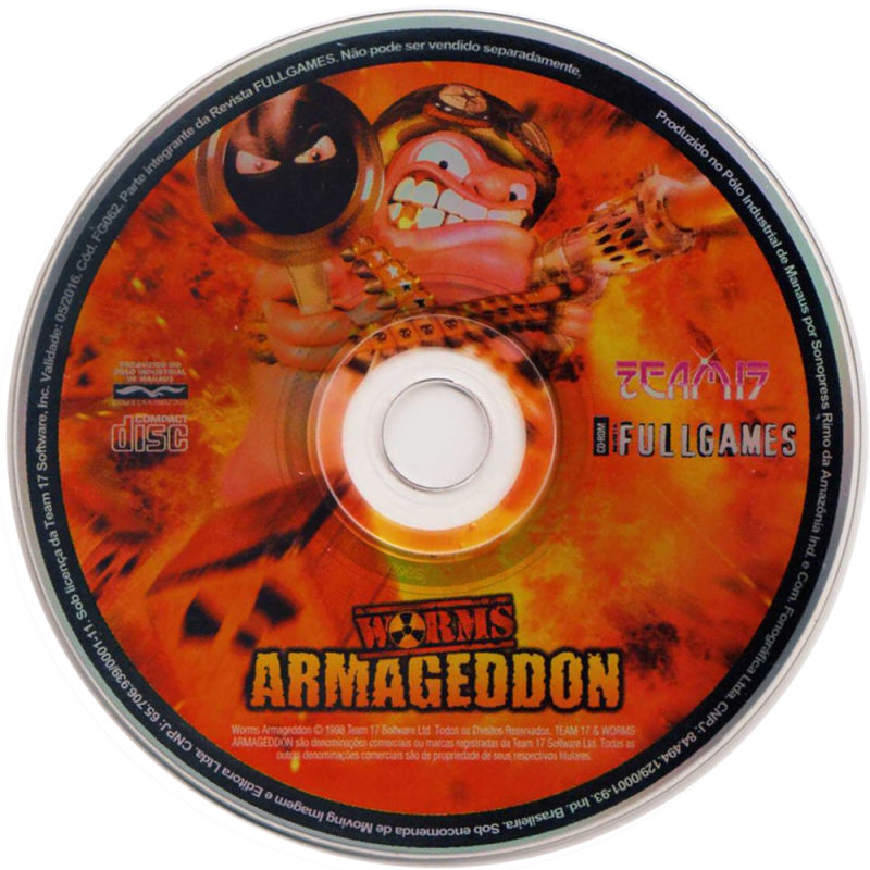 Worms: Armageddon Windows Media