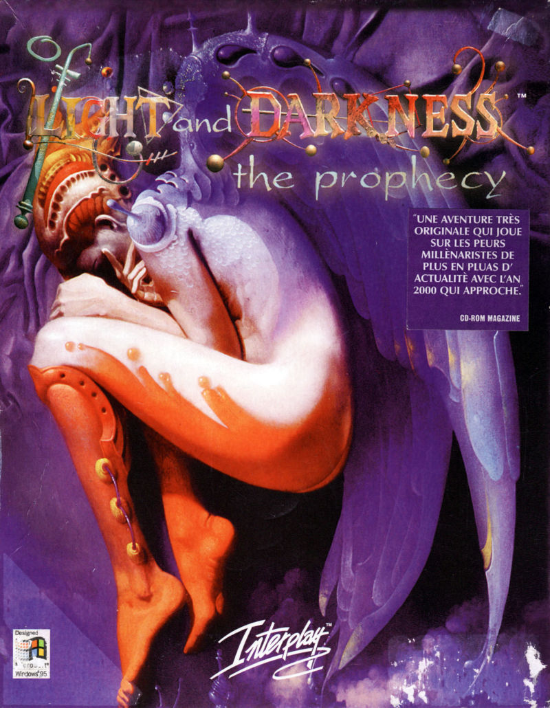 Of Light and Darkness: The Prophecy Windows Front Cover