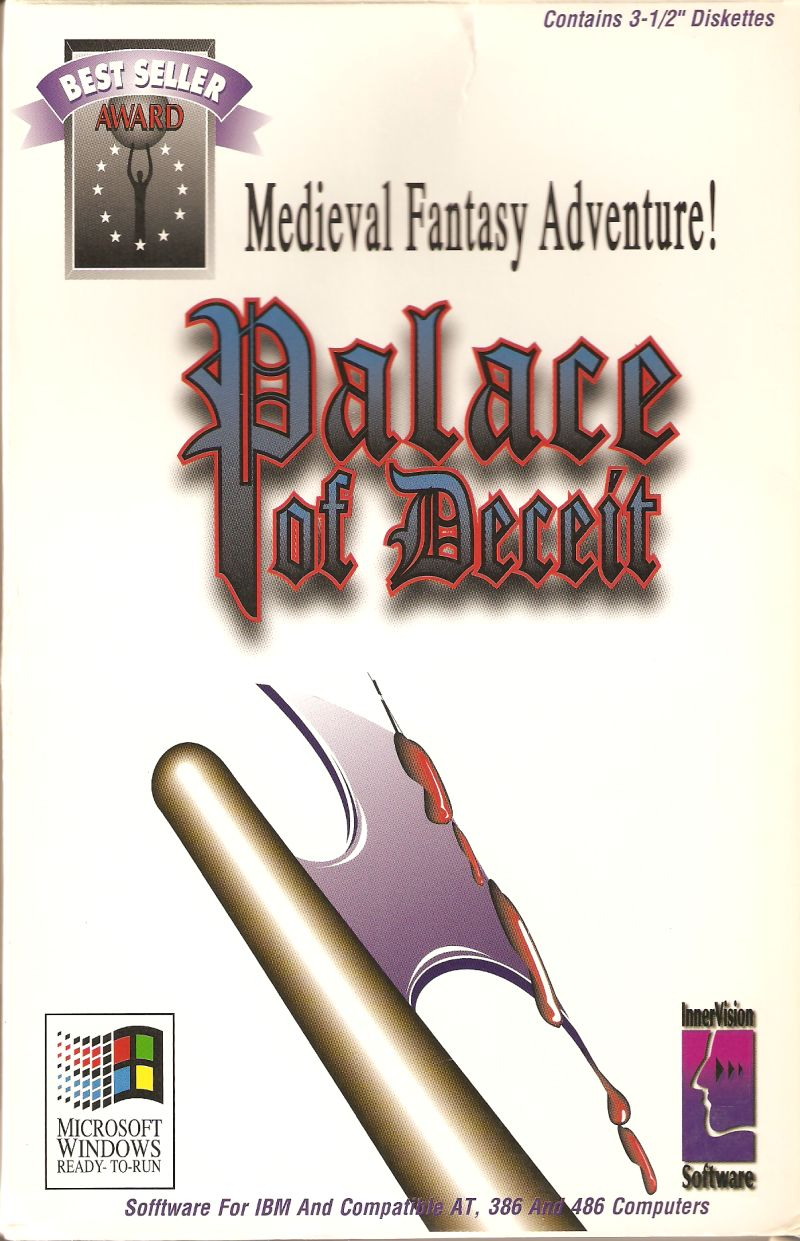 The Palace of Deceit: The Dragon's Plight Windows 3.x Front Cover