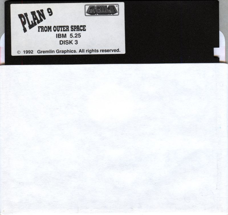 Plan 9 From Outer Space DOS Media Disk 3/3