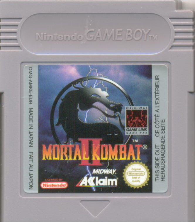 Mortal Kombat II Game Boy Media