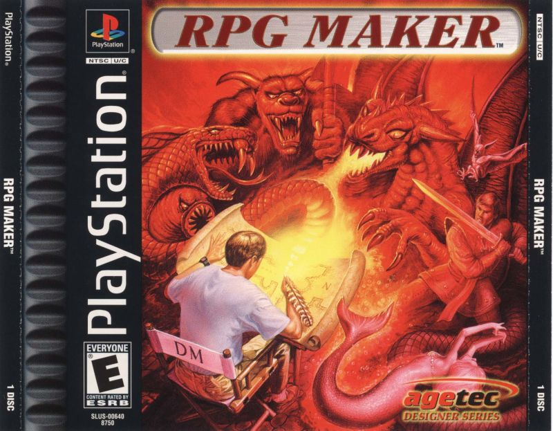 RPG Maker PlayStation Front Cover