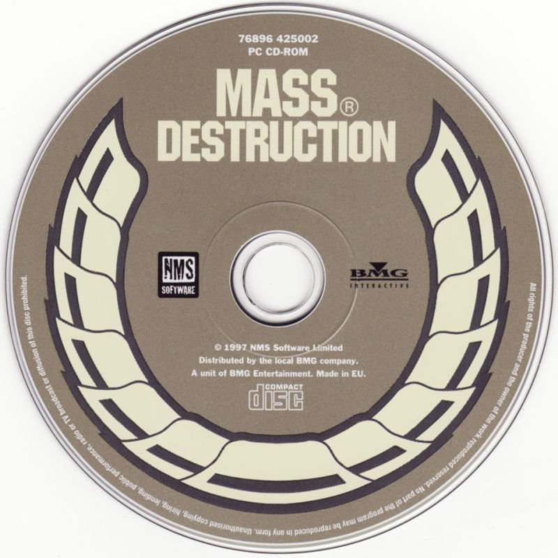 Mass Destruction DOS Media