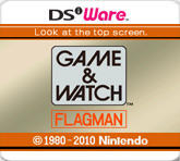 Game & Watch: Flagman Nintendo DSi Front Cover