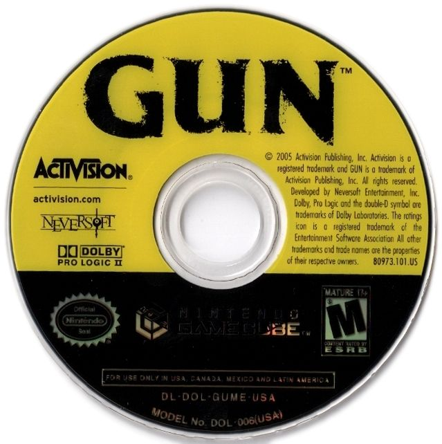 Gun GameCube Media