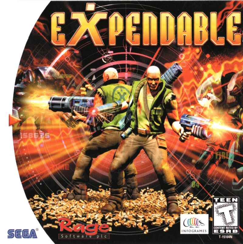 Millennium Soldier: Expendable Dreamcast Front Cover