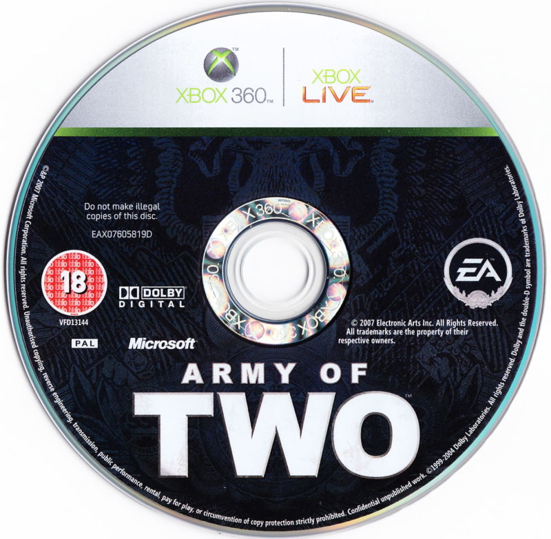 Army of Two Xbox 360 Media