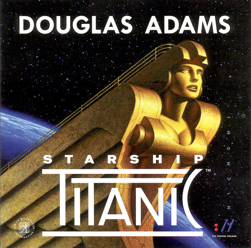 Starship Titanic Macintosh Other CD Booklet Front Cover