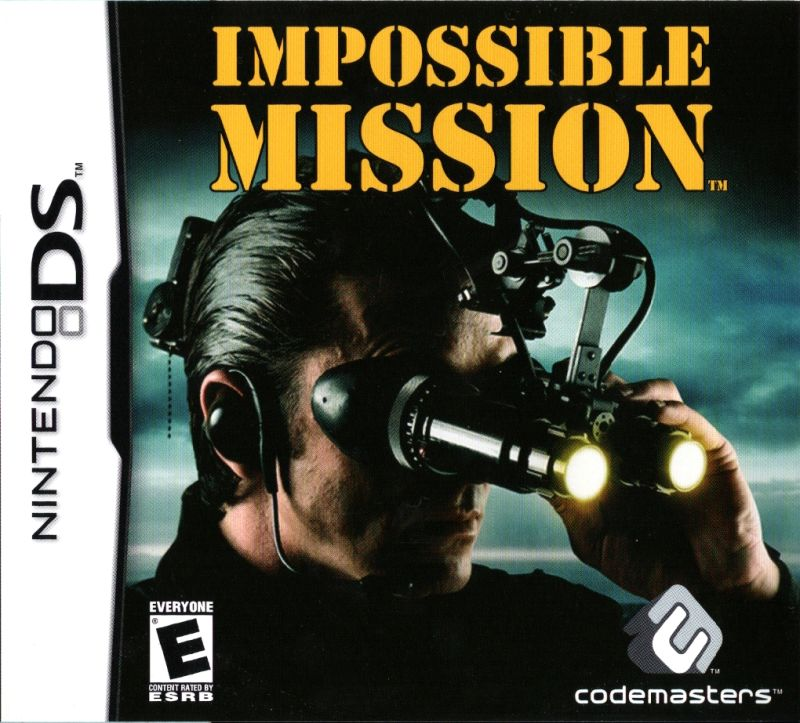 Impossible Mission Nintendo DS Front Cover