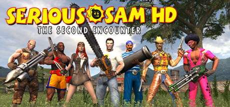 Serious Sam HD: The Second Encounter Windows Front Cover